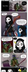 Donatello VS Casey Jones PART 1 by TurboTails06