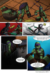 Donatello VS Casey Jones PART 4 by TurboTails06