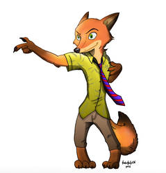 Who's Bad? - Nick Wilde by TurboTails06