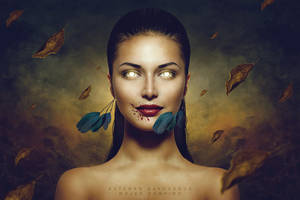 Mujer vampiro by EstebanSayhueque