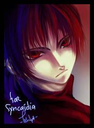 Damien for syncaidia by lishtar