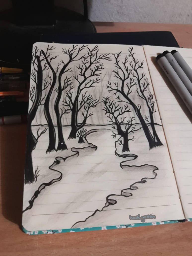 fantasy forest by hadilyassin