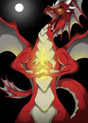Magic Dragon by VegaBone