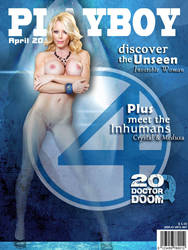Playboy Cover - Invisible Woman by LograySon