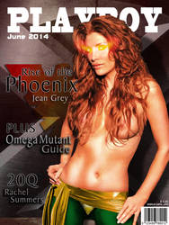 Playboy Cover - Jean Grey by LograySon