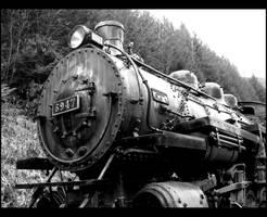 Ghost Train by rockinxrebecca