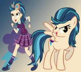 MLP Equestria Girls: Friendship Games- Indigo Zap by sunset-sunrize
