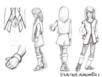 ToS: Mithos Study Pg.2 by Stealthos-Aurion