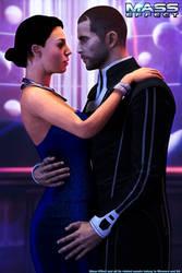 Mass Effect - RandR series: Casino Date by Berserker79
