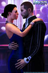 Mass Effect - RandR series: Casino Date by Berserker79