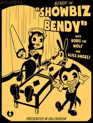 Showbiz Bendy by MissPeya