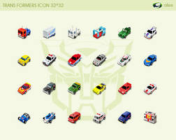 TRANS FORMERS Icons by aaaalex