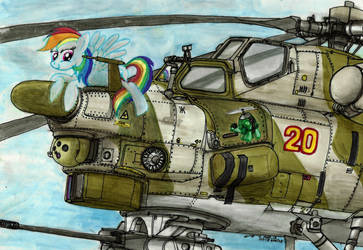 Dash And Tank by buckweiser