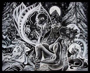 Black and White Dream by nikolfsoluski