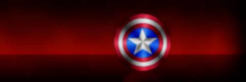 Captain America Twitter Header by AviseLaLina