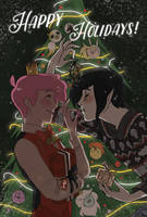 Happy Holidays! by Hootsweets