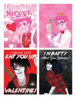 Gumlee Valentines! by Hootsweets