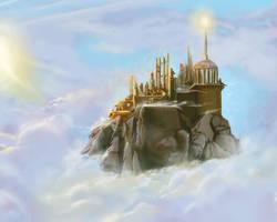 Mount Olympus by Gycinn