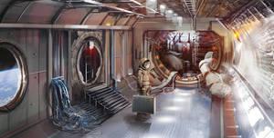 Space Station Concept by Gycinn