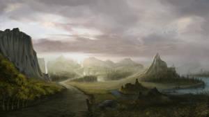 illustration landscape by Gycinn