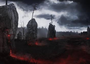 Concept Bloodstone field by Gycinn