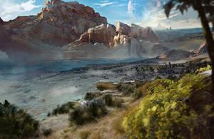 The Old Plainstriders plain by Gycinn