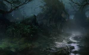 Witch-forest by Gycinn