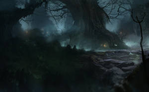 Swamps 2 by Gycinn
