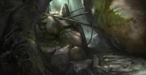 forest creeps by Gycinn