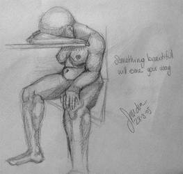 Anatomy sketch no2 by thesilentsidhe