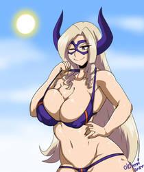 Mt.Lady Bikini by OkiOppai