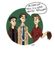 A Supernatural Halloween by TheLilAlien
