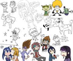 Tumblr Doodles Pt. 1 by Wonchop