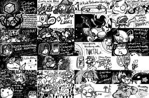 Miiverse Doodles Vol. 2 by Wonchop