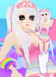 6th Teruko 3D by 0Teru