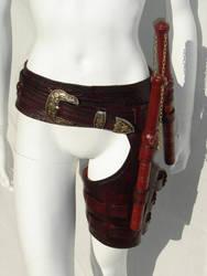 Cara Mord Sith Belt Custom by optinerd