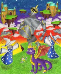 Spyro Haunted Towers by DSA09