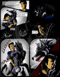 Muscles,Fangs and Claws P24 WerewolfTransformation by DSA09