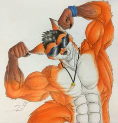 Dan Showing the biceps by DSA09