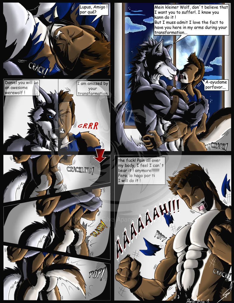 Muscles,Fangs and Claws P26 WerewolfTransformation by DSA09
