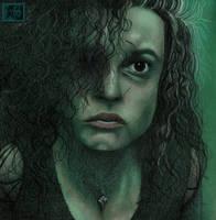 Bellatrix Lestrange by LadyGray01