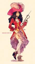 Fem!Captain Hook by MabyMin
