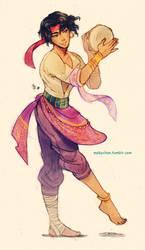 Male!Esmeralda 2 by MabyMin