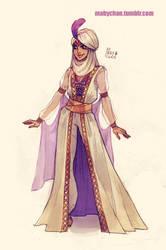 Fem!Aladdin by MabyMin