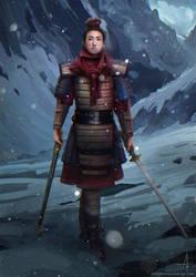 Mulan by ojadano