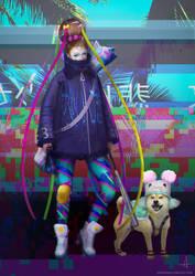 Vaporwave kid #1 by ojadano