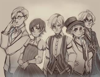 CM: The Gang by LibertyMae