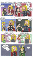 Thor's History With Women by theperfectbromance