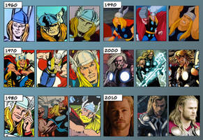 The Evolution of Thor by theperfectbromance