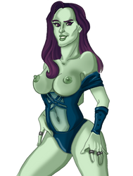 Gamora big chested by theperfectbromance